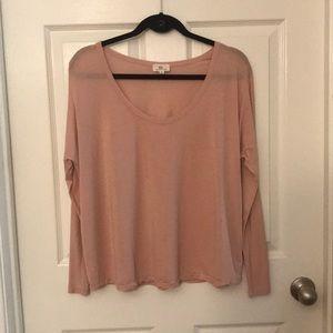 AG oversized t-shirt Blush Pink super soft